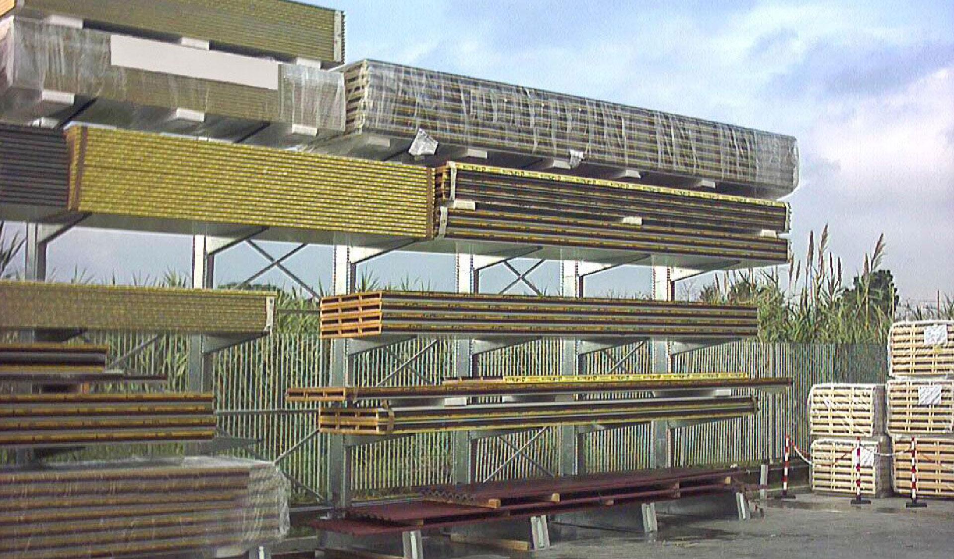 scaffalatura pesante magazzino